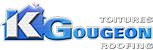 K Gougeon Roofing (514) 266-8549 Logo